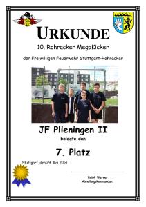 Urkunde_JF_Plieningen_II